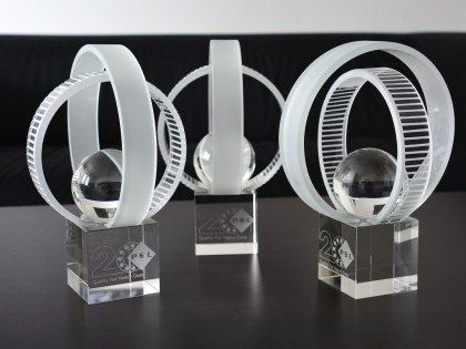Ocenenie k 20. výročiu firmy PSL,a.s.