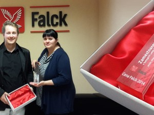 Ocenenia zo skla pre firmu Falck Emergency a.s.
